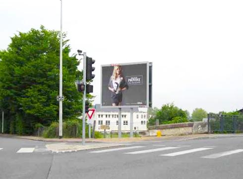 Affichage à Saumur