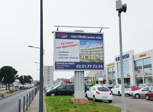 Affichage à Nantes