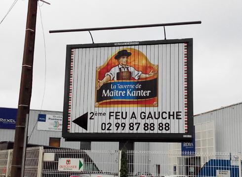 Affichage à Rennes