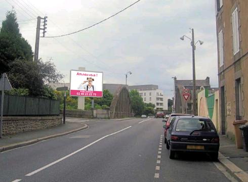 Affichage Saint-Brieuc